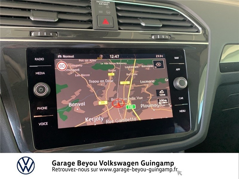 Photo 8 de l'offre de VOLKSWAGEN TIGUAN 2.0 TDI 150 DSG7 à 36990€ chez Garage Beyou - Volkswagen Guingamp