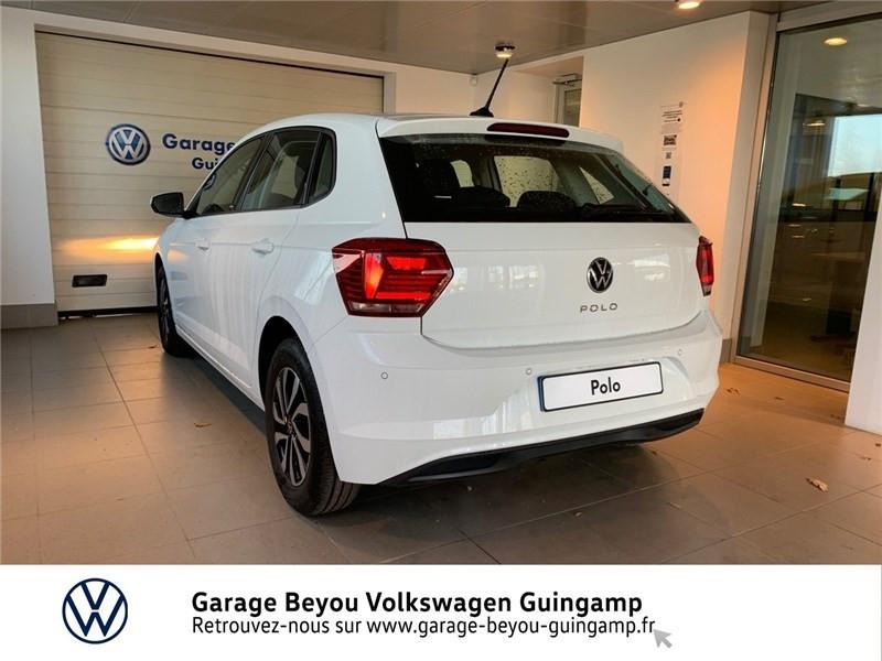 Photo 2 de l'offre de VOLKSWAGEN POLO 1.0 TSI 95 S&S BVM5 à 16990€ chez Garage Beyou - Volkswagen Guingamp