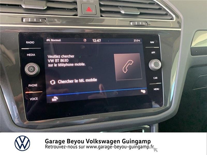 Photo 16 de l'offre de VOLKSWAGEN TIGUAN 2.0 TDI 150 DSG7 à 36990€ chez Garage Beyou - Volkswagen Guingamp
