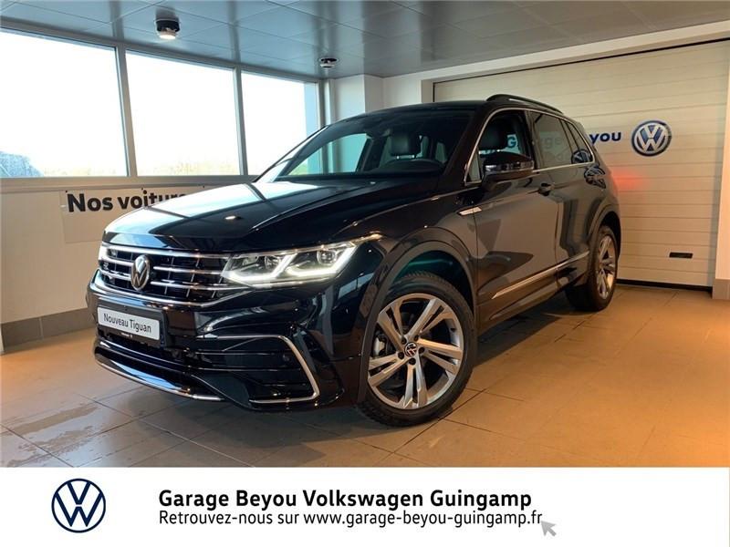 Photo 2 de l'offre de VOLKSWAGEN TIGUAN 2.0 TDI 150CH  DSG7 4MOTION à 42990€ chez Garage Beyou - Volkswagen Guingamp