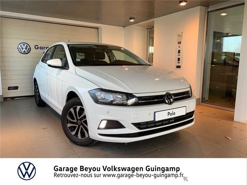 Photo 1 de l'offre de VOLKSWAGEN POLO 1.0 TSI 95 S&S BVM5 à 16990€ chez Garage Beyou - Volkswagen Guingamp