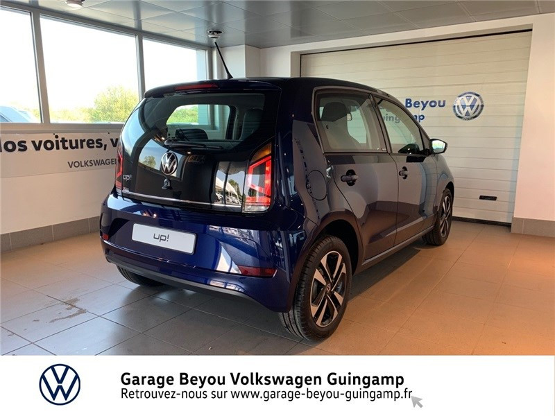 Photo 4 de l'offre de VOLKSWAGEN UP 1.0 60 BLUEMOTION TECHNOLOGY BVM5 à 13590€ chez Garage Beyou - Volkswagen Guingamp