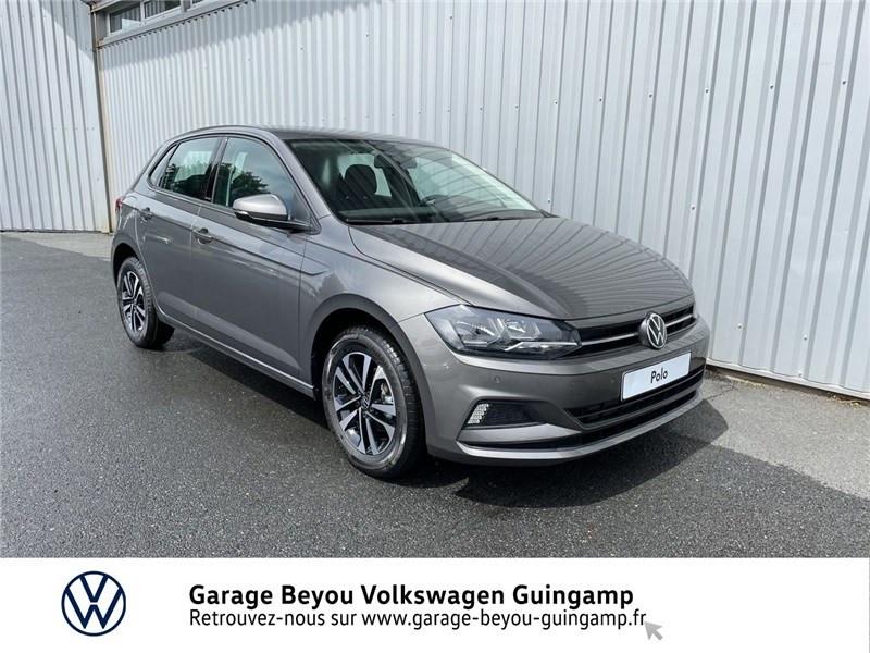 Volkswagen POLO 1.0 TSI 95 S&S DSG7 Essence sans plomb Gris Limestone Occasion à vendre