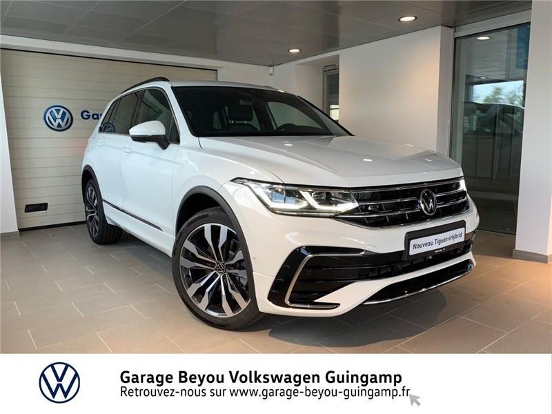 Volkswagen TIGUAN 1.4 EHYBRID 245CH DSG6 Essence / Courant électrique Blanc Pur Occasion à vendre