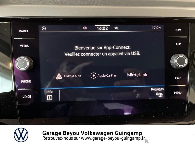 Photo 8 de l'offre de VOLKSWAGEN POLO 1.0 TSI 95 S&S BVM5 à 21585€ chez Garage Beyou - Volkswagen Guingamp
