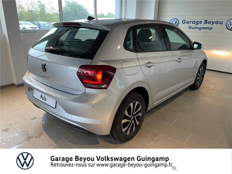 Photo 5 de l'offre de VOLKSWAGEN POLO 1.0 TSI 95 S&S BVM5 à 21585€ chez Garage Beyou - Volkswagen Guingamp