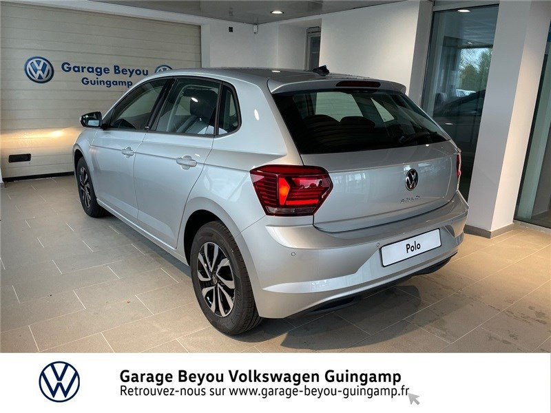 Photo 2 de l'offre de VOLKSWAGEN POLO 1.0 TSI 95 S&S BVM5 à 21585€ chez Garage Beyou - Volkswagen Guingamp