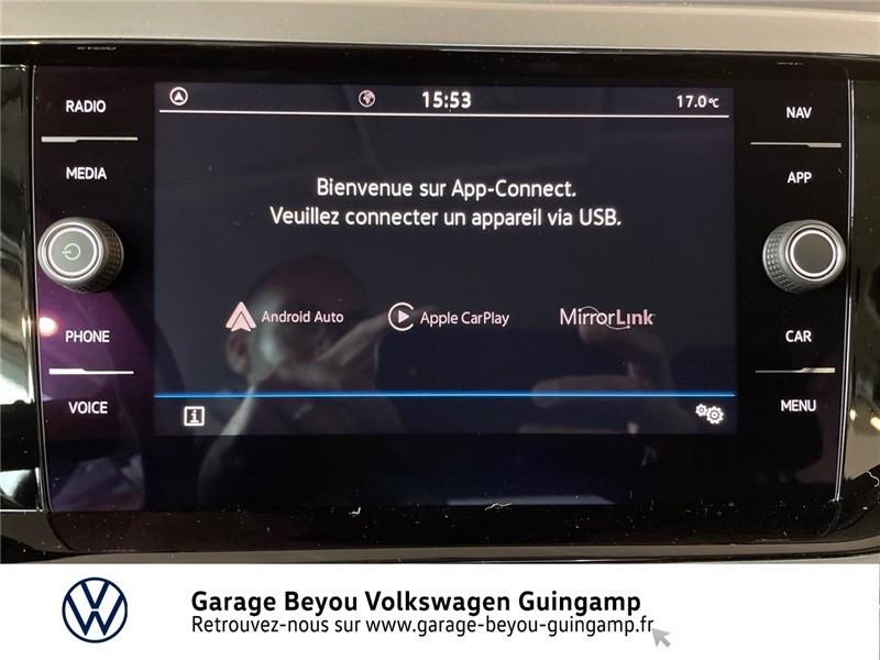 Photo 8 de l'offre de VOLKSWAGEN POLO 1.0 TSI 95 S&S DSG7 à 23260€ chez Garage Beyou - Volkswagen Guingamp
