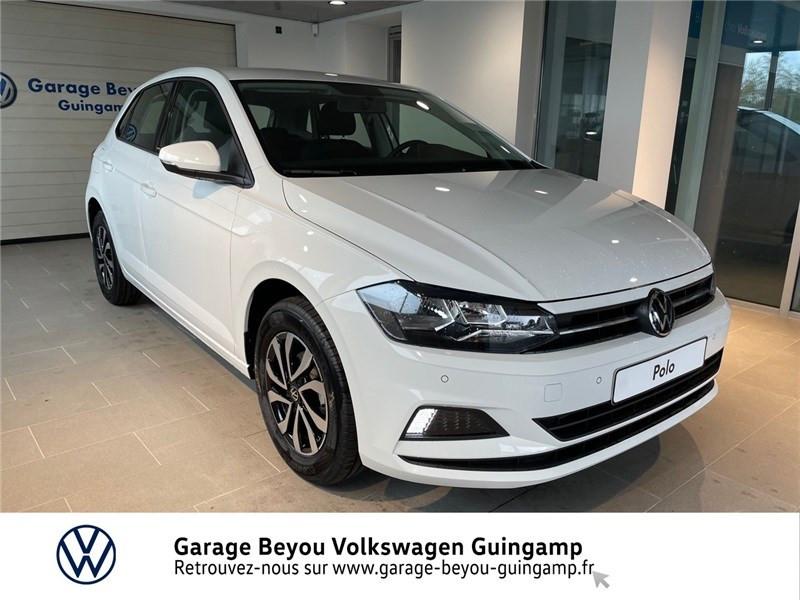 Photo 1 de l'offre de VOLKSWAGEN POLO 1.0 TSI 95 S&S DSG7 à 22985€ chez Garage Beyou - Volkswagen Guingamp