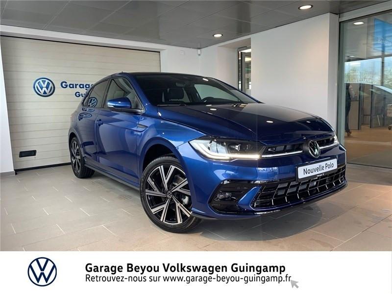 Volkswagen POLO 1.0 TSI 110 S&S DSG7 Essence sans plomb Bleu recif métal Occasion à vendre