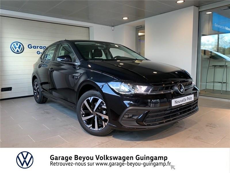 Volkswagen POLO 1.0 TSI 95 S&S BVM5 Essence sans plomb Noir Intense nacré Occasion à vendre