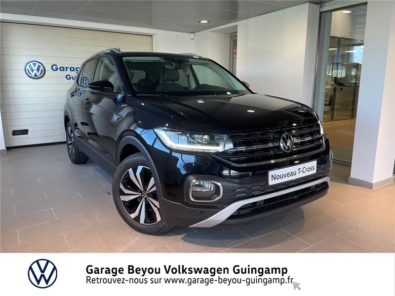 Volkswagen T-CROSS 1.0 TSI 110 START/STOP DSG7 Essence sans plomb Noir intense métallisé Occasion à vendre