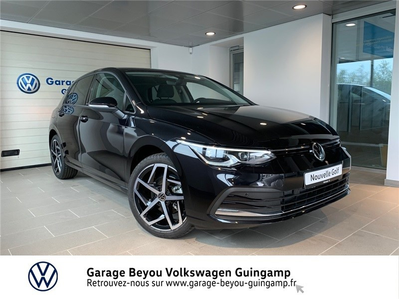 Volkswagen GOLF 1.0 ETSI OPF 110 DSG7 Essence sans plomb Noir intense métallisé Occasion à vendre