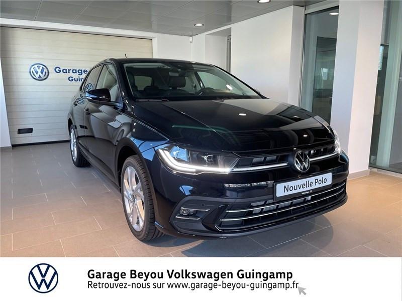 Photo 1 de l'offre de VOLKSWAGEN POLO 1.0 TSI 110 S&S DSG7 à 23990€ chez Garage Beyou - Volkswagen Guingamp