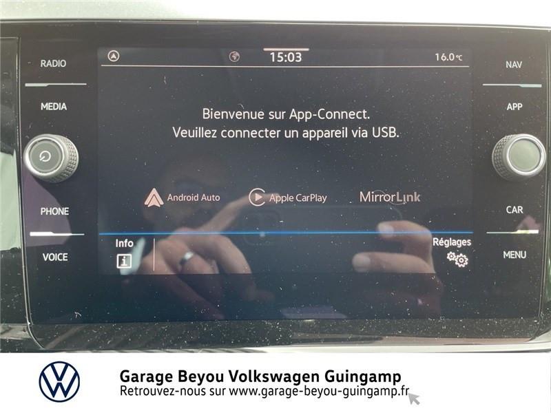 Photo 8 de l'offre de VOLKSWAGEN POLO 1.0 TSI 95 S&S BVM5 à 17990€ chez Garage Beyou - Volkswagen Guingamp