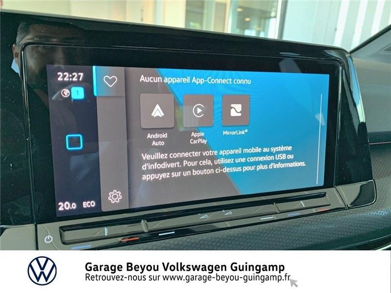 Photo 14 de l'offre de VOLKSWAGEN GOLF 1.4 HYBRID RECHARGEABLE OPF 245 DSG6 à 48980€ chez Garage Beyou - Volkswagen Guingamp