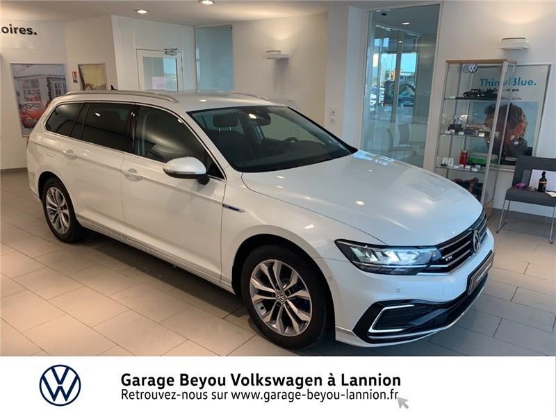 Volkswagen PASSAT SW 1.4 TSI HYBRIDE RECHARGEABLE DSG6 Essence / Courant électrique BLANC ORYX Occasion à vendre