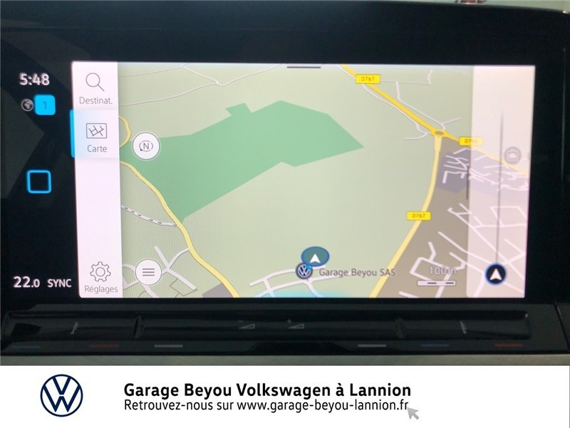 Photo 16 de l'offre de VOLKSWAGEN GOLF 1.5 TSI ACT OPF 130 BVM6 à 31085€ chez Garage Beyou - Volkswagen Lannion