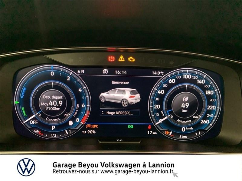 Photo 9 de l'offre de VOLKSWAGEN GOLF HYBRIDE RECHARGEABLE 1.4 TSI 204 DSG6 à 29990€ chez Garage Beyou - Volkswagen Lannion