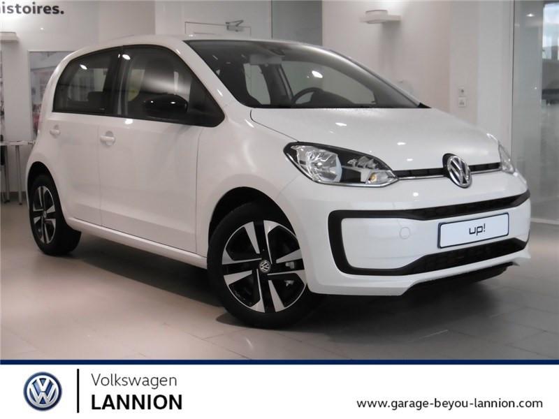 Volkswagen UP 1.0 60 BLUEMOTION TECHNOLOGY BVM5 Essence sans plomb Blanc pur Occasion à vendre