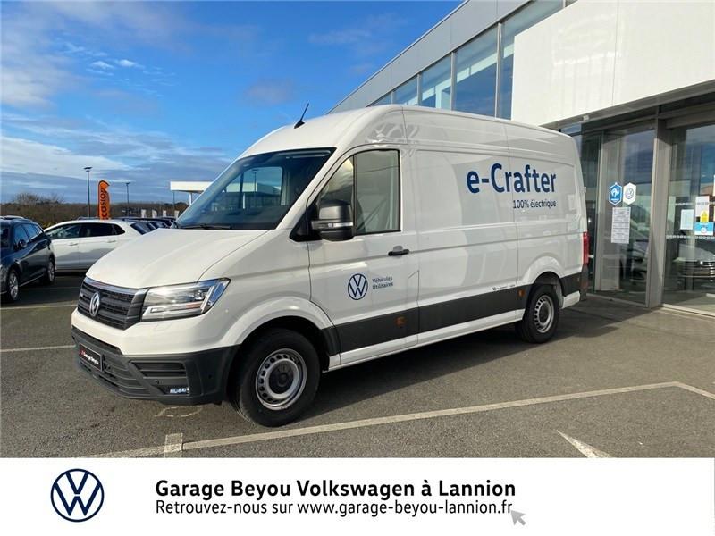 Volkswagen CRAFTER FOURGON e-CRAFTER VAN 35 L3H3 136 CH BVA Courant électrique BLANC CANDY Occasion à vendre