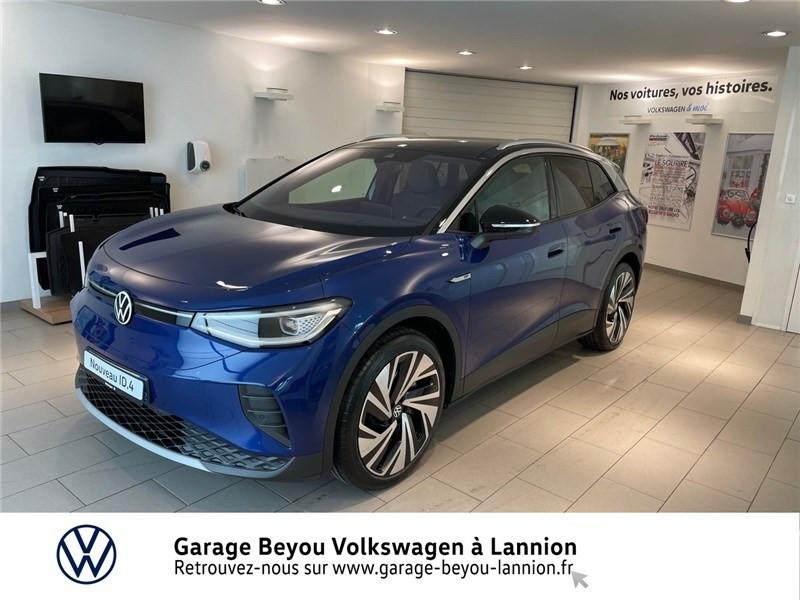 Volkswagen ID.4 204 CH Courant électrique bleu crépuscule / toit noir  Occasion à vendre