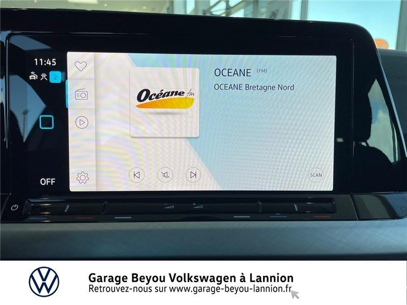 Photo 9 de l'offre de VOLKSWAGEN GOLF 2.0 TDI SCR 150 DSG7 à 34990€ chez Garage Beyou - Volkswagen Lannion