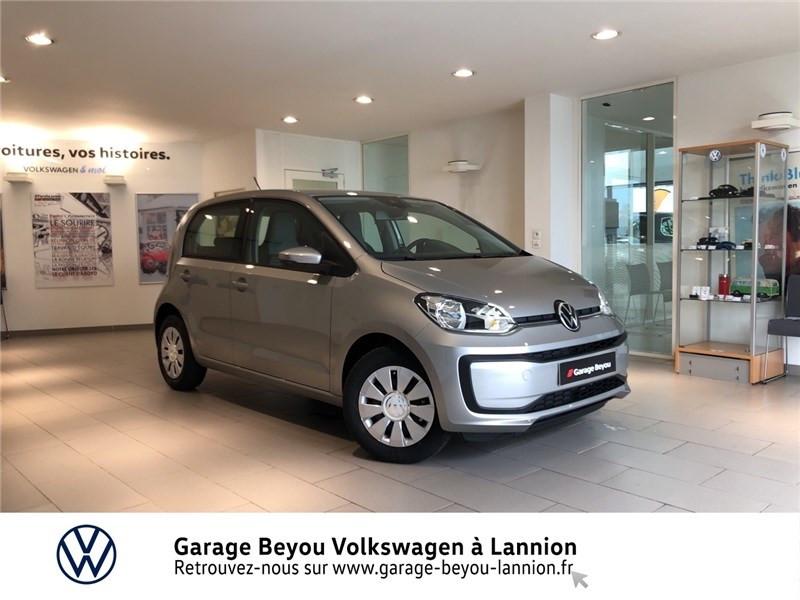 Photo 1 de l'offre de VOLKSWAGEN UP 1.0 60 BLUEMOTION TECHNOLOGY BVM5 à 11990€ chez Garage Beyou - Volkswagen Lannion