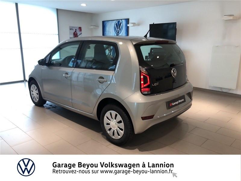 Photo 4 de l'offre de VOLKSWAGEN UP 1.0 60 BLUEMOTION TECHNOLOGY BVM5 à 11990€ chez Garage Beyou - Volkswagen Lannion