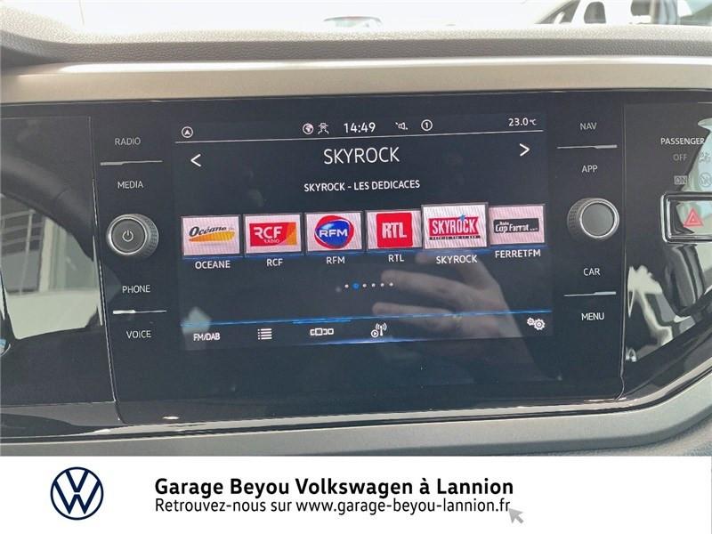 Photo 8 de l'offre de VOLKSWAGEN POLO 1.0 TSI 95 S&S BVM5 à 17790€ chez Garage Beyou - Volkswagen Lannion