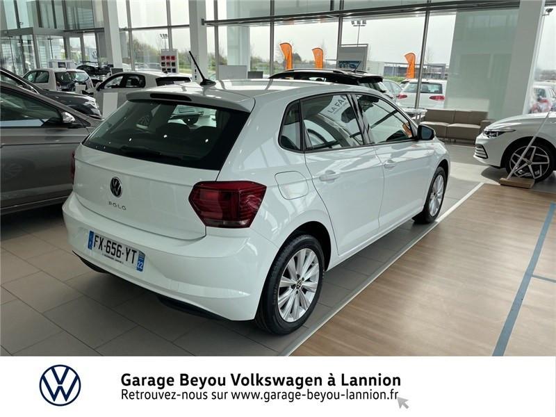 Photo 4 de l'offre de VOLKSWAGEN POLO 1.0 TSI 95 S&S BVM5 à 17790€ chez Garage Beyou - Volkswagen Lannion