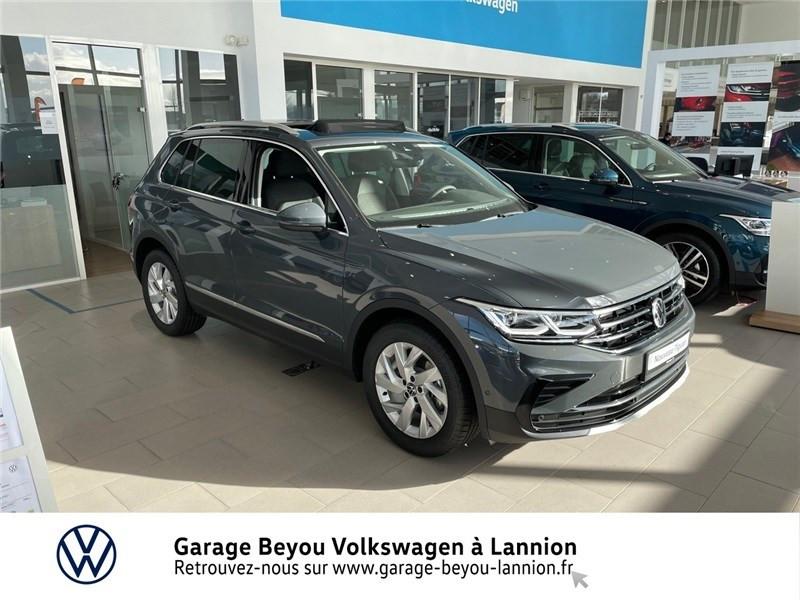 Photo 2 de l'offre de VOLKSWAGEN TIGUAN 1.5 TSI 150CH DSG7 à 44100€ chez Garage Beyou - Volkswagen Lannion