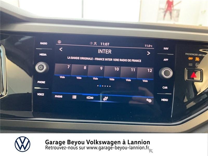 Photo 8 de l'offre de VOLKSWAGEN POLO 1.0 TSI 95 S&S BVM5 à 17990€ chez Garage Beyou - Volkswagen Lannion