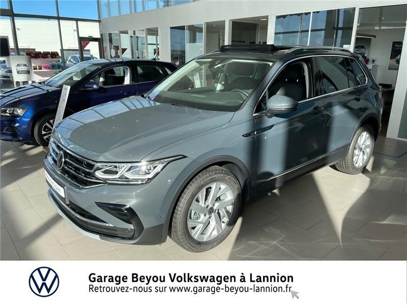 Photo 1 de l'offre de VOLKSWAGEN TIGUAN 1.5 TSI 150CH DSG7 à 44100€ chez Garage Beyou - Volkswagen Lannion