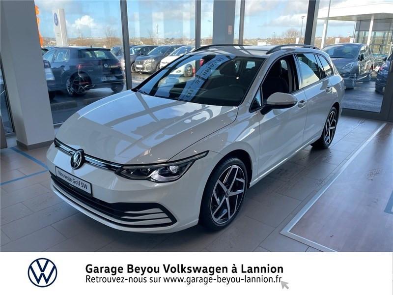 Photo 1 de l'offre de VOLKSWAGEN GOLF 2.0 TDI SCR 150 DSG7 à 34990€ chez Garage Beyou - Volkswagen Lannion