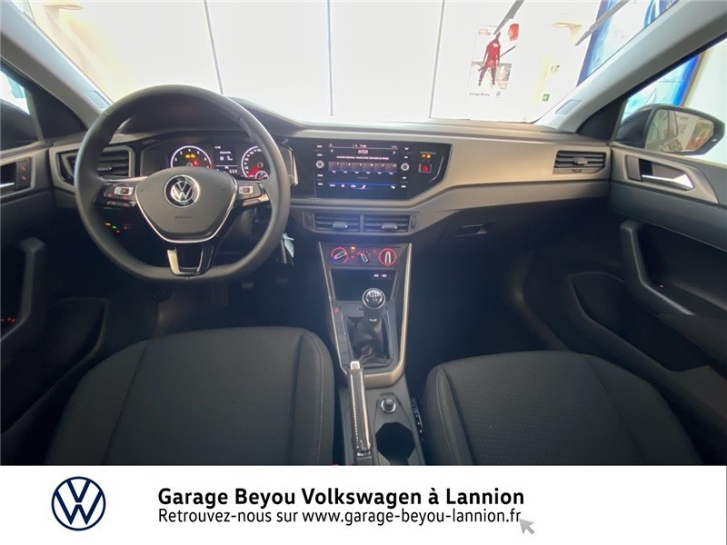 Photo 6 de l'offre de VOLKSWAGEN POLO 1.0 TSI 95 S&S BVM5 à 17990€ chez Garage Beyou - Volkswagen Lannion