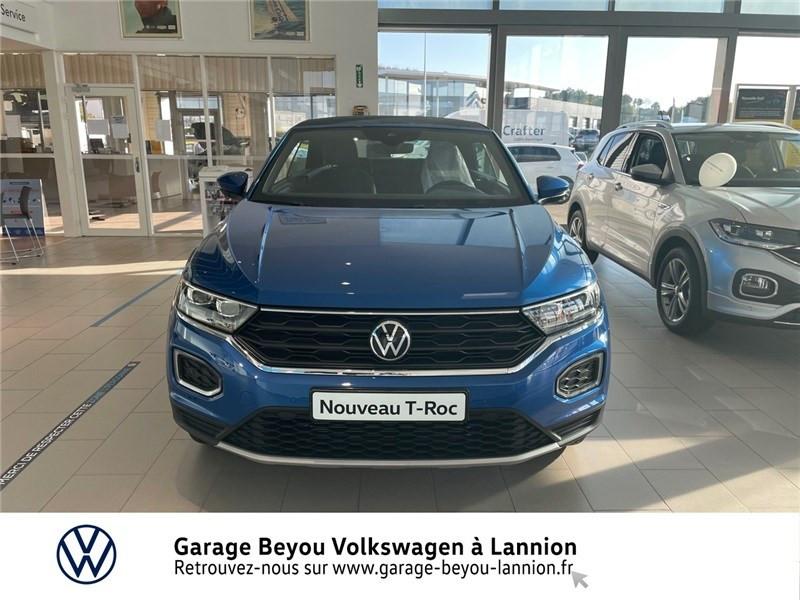 Photo 2 de l'offre de VOLKSWAGEN T-ROC 1.5 TSI EVO 150 START/STOP DSG7 à 37990€ chez Garage Beyou - Volkswagen Lannion