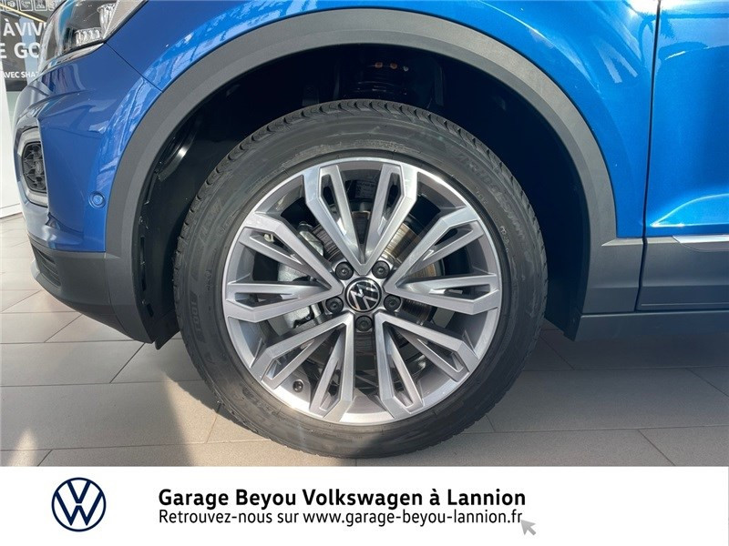 Photo 14 de l'offre de VOLKSWAGEN T-ROC 1.5 TSI EVO 150 START/STOP DSG7 à 37990€ chez Garage Beyou - Volkswagen Lannion