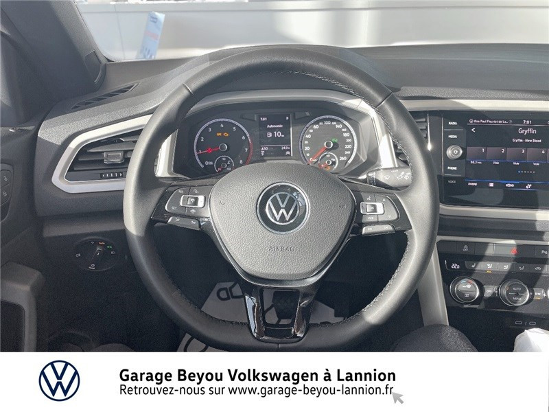 Photo 6 de l'offre de VOLKSWAGEN T-ROC 1.5 TSI EVO 150 START/STOP DSG7 à 37990€ chez Garage Beyou - Volkswagen Lannion
