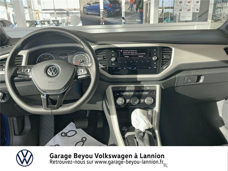 Photo 5 de l'offre de VOLKSWAGEN T-ROC 1.5 TSI EVO 150 START/STOP DSG7 à 37990€ chez Garage Beyou - Volkswagen Lannion