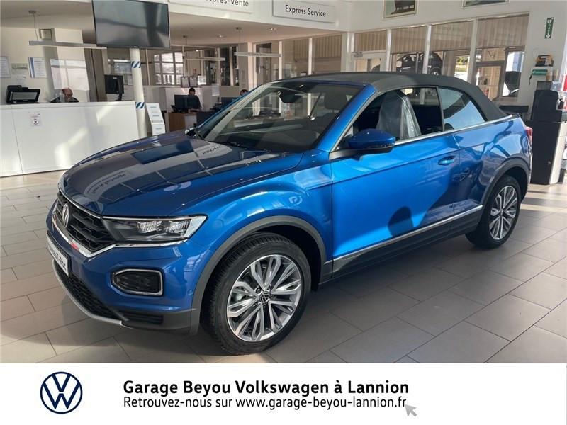 Photo 1 de l'offre de VOLKSWAGEN T-ROC 1.5 TSI EVO 150 START/STOP DSG7 à 37990€ chez Garage Beyou - Volkswagen Lannion
