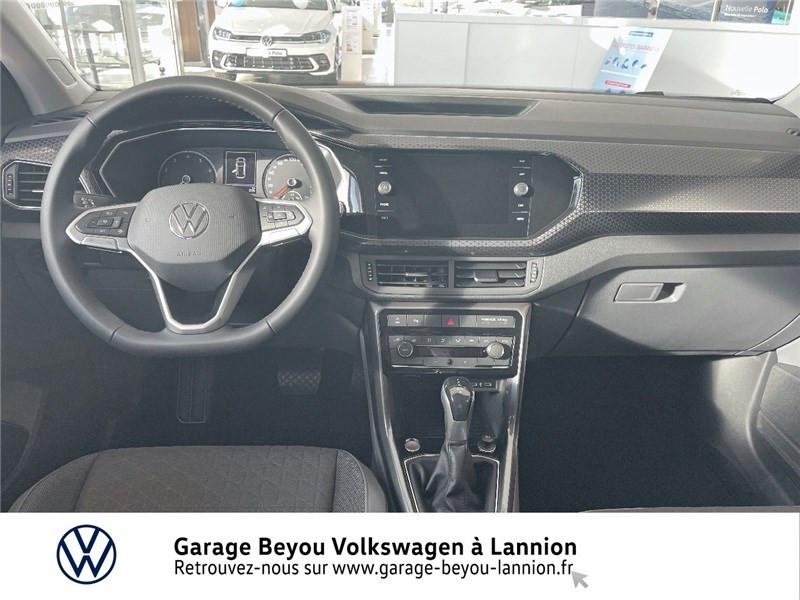 Photo 5 de l'offre de VOLKSWAGEN T-CROSS 1.0 TSI 110 START/STOP DSG7 à 27990€ chez Garage Beyou - Volkswagen Lannion