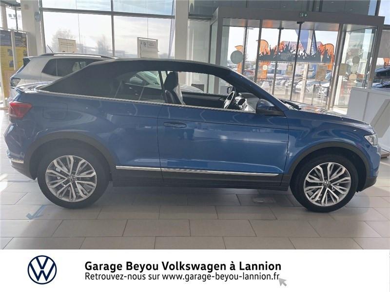 Photo 4 de l'offre de VOLKSWAGEN T-ROC 1.5 TSI EVO 150 START/STOP DSG7 à 37990€ chez Garage Beyou - Volkswagen Lannion