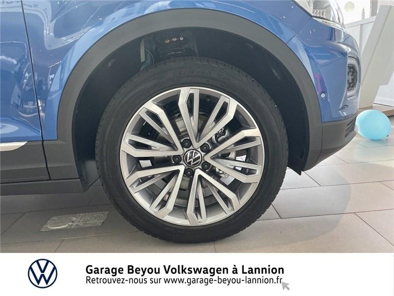 Photo 15 de l'offre de VOLKSWAGEN T-ROC 1.5 TSI EVO 150 START/STOP DSG7 à 37990€ chez Garage Beyou - Volkswagen Lannion