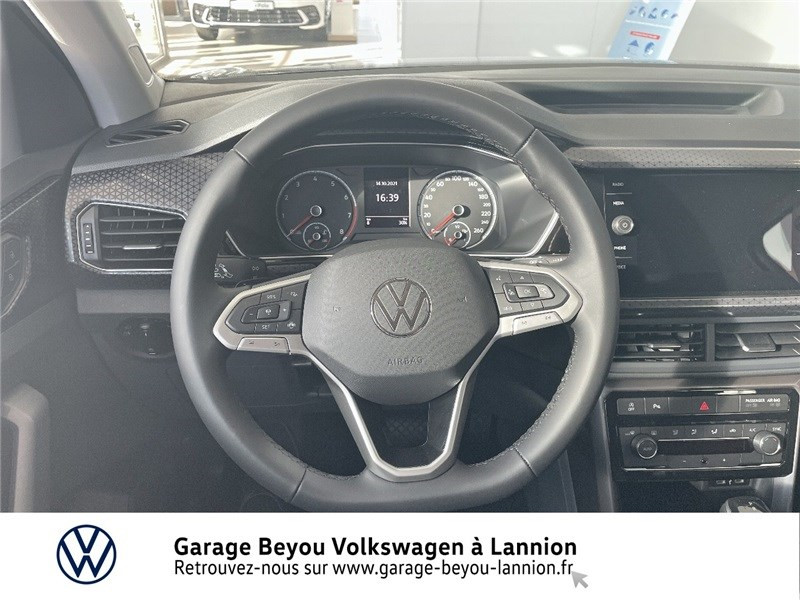 Photo 6 de l'offre de VOLKSWAGEN T-CROSS 1.0 TSI 110 START/STOP DSG7 à 27990€ chez Garage Beyou - Volkswagen Lannion