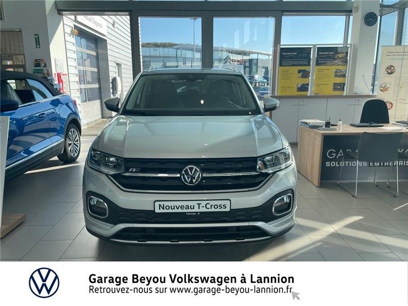 Photo 2 de l'offre de VOLKSWAGEN T-CROSS 1.0 TSI 110 START/STOP DSG7 à 27990€ chez Garage Beyou - Volkswagen Lannion