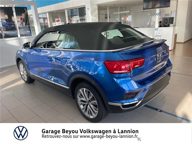 Photo 3 de l'offre de VOLKSWAGEN T-ROC 1.5 TSI EVO 150 START/STOP DSG7 à 37990€ chez Garage Beyou - Volkswagen Lannion