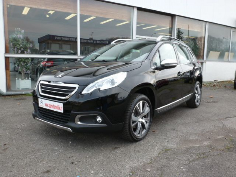 Peugeot 2008 1.6 BLUEHDI 120CH ALLURE S&S Diesel NOIR PERLA NERA Occasion à vendre