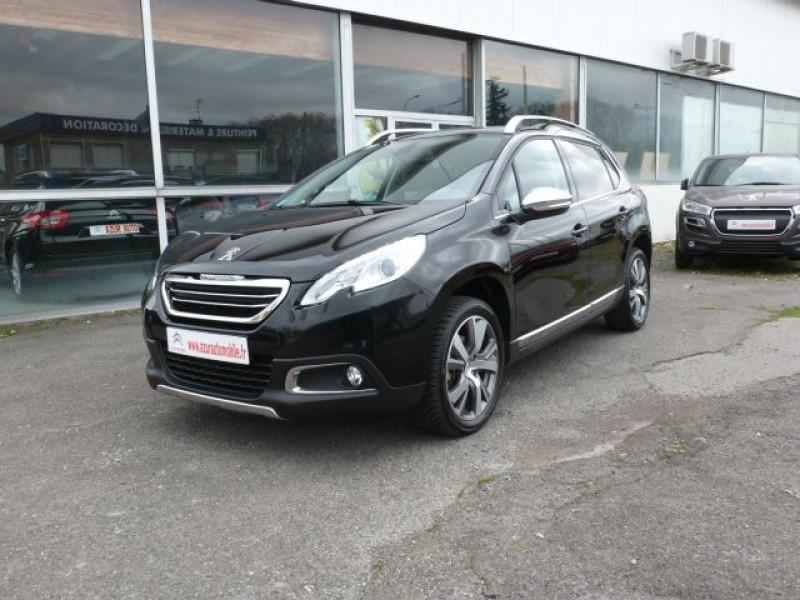 Peugeot 2008 1.6 E-HDI115 FAP ALLURE Diesel NOIR PERLA NERA Occasion à vendre