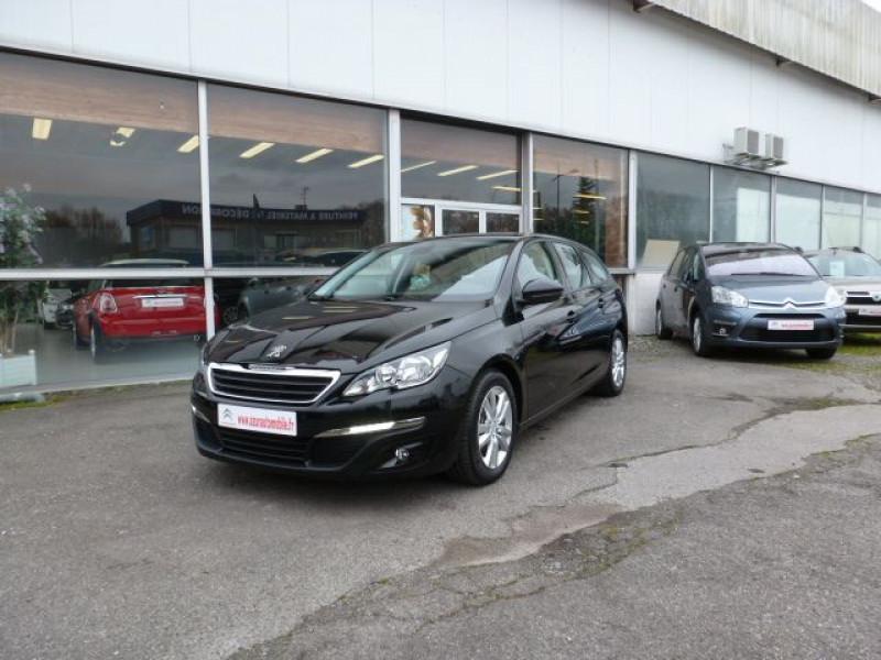 Peugeot 308 SW 1.6 HDI FAP 92CH ACTIVE Diesel NOIR PERLA NERA Occasion à vendre